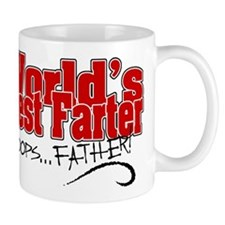 World's Best Farter (oops.. FATHER!) Small Mug