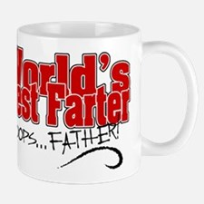 World's Best Farter (oops.. FATHER!) Small Small Mug