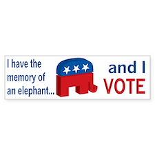 I have the memory Bumper Sticker