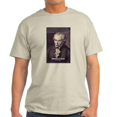 Immanuel Kant Reason Ash Grey T-Shirt