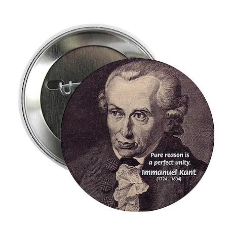 Immanuel Kant Reason Button
