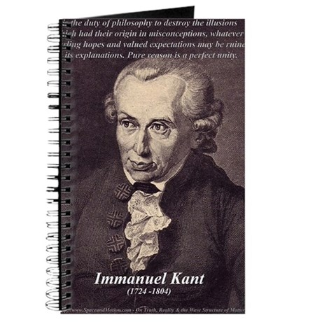 Immanuel Kant Reason Journal