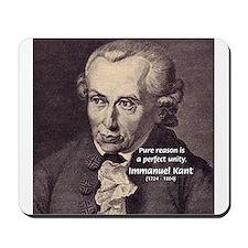 Immanuel Kant Reason Mousepad
