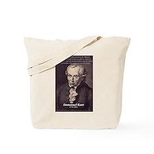 Immanuel Kant Reason Tote Bag