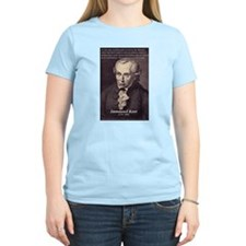 Immanuel Kant Reason Women's Pink T-Shirt