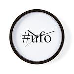 #ufo Wall Clock