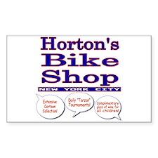 Horton's Bike Shop Decal