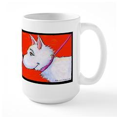 Westie Love Large Mug