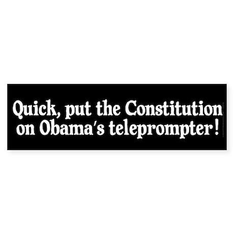 President's Teleprompter Sticker (Bumper)