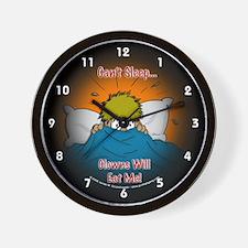 Can't Sleep Clowns Will Eat Me Wall Clock