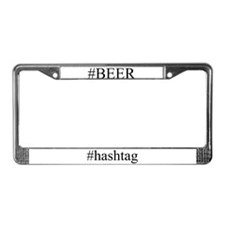 # BEER License Plate Frame