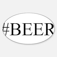 # BEER Sticker (Oval)