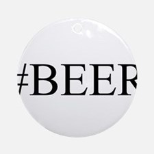 # BEER Ornament (Round)