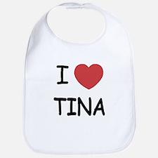 I heart Tina Bib