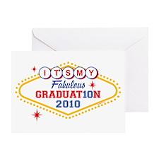 Los Vegas Grad 2010 Greeting Card