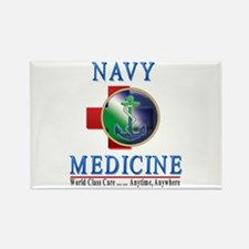 Navy Medicine Rectangle Magnet (100 pack)