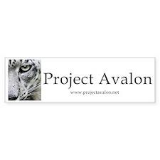 Project Avalon Bumper Sticker
