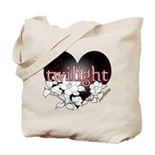 Twilight Flowers by Twibaby Tote Bag