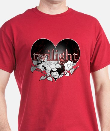 Twilight Flowers by Twibaby T-Shirt