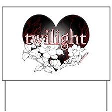 Twilight Flowers by Twibaby Yard Sign