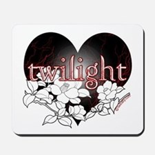Twilight Flowers by Twibaby Mousepad