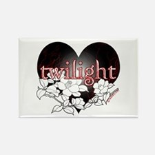 Twilight Flowers by Twibaby Rectangle Magnet