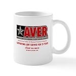 Aver Anniversary Mugs