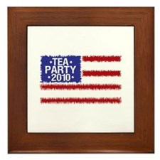 Tea Party 2010 Framed Tile