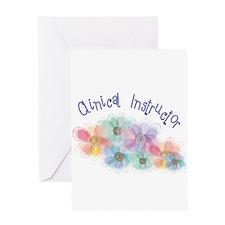 Clinical Nursing Instructor Greeting Card