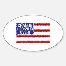 2012 Elections Change Over Decal