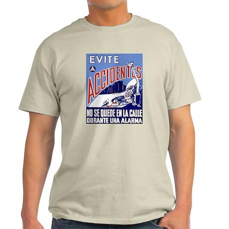 ACCIDENTES Ash Grey T-Shirt