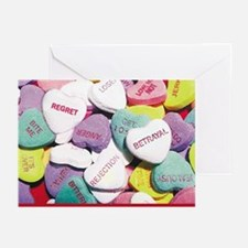 Candy Heart Greeting Cards (Pk of 10)