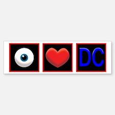 I LOVE DC Bumper Bumper Sticker