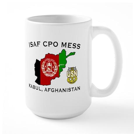 ISAF PSD CPO Mess Large Mug