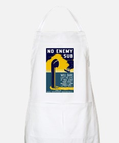 No Enemy Gun BBQ Apron