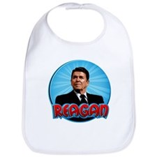 Ronald Reagan Super Hero Bib