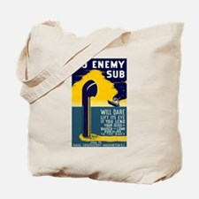 No Enemy Gun Tote Bag