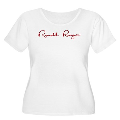 Ronald Reagan Signature Women's Plus Size Scoop Ne