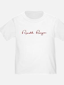 Ronald Reagan Signature T