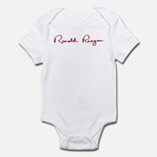 Ronald Reagan Signature Infant Bodysuit