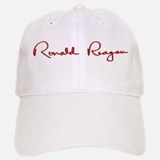 Ronald Reagan Signature Baseball Baseball Cap