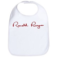 Ronald Reagan Signature Bib