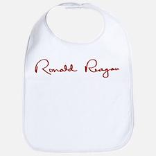 Ronald Reagan Signature Bib