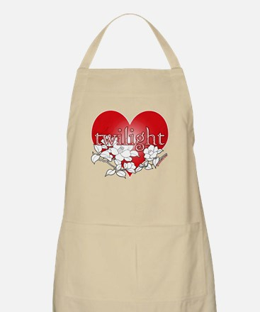 Twilight Heart Flower by twibaby Apron