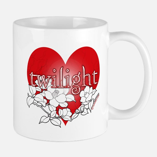 Twilight Heart Flower by twibaby Mug