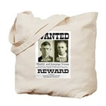 Young Brothers Wanted Tote Bag