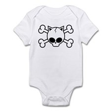Skull and Cat Bones Infant Bodysuit