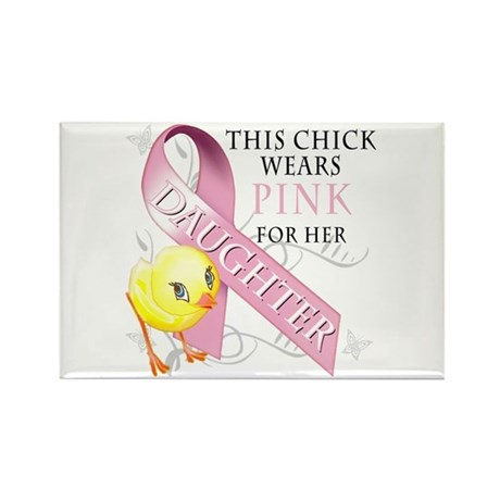 This Chick Wears Pink For Her Daughter Rectangle M