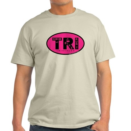 Thiathlon Swim Bike Run Light T-Shirt