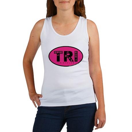 Thiathlon Swim Bike Run Women's Tank Top
